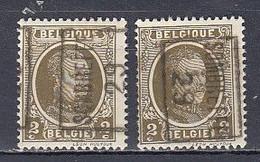 4579 Voorafstempeling Op Nr 191 - SOMBREFFE 29 - Positie A & B - Roller Precancels 1920-29
