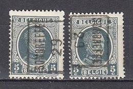 4698 Voorafstempeling Op Nr 193 - SOMBREFFE 29 - Positie A & B - Roller Precancels 1920-29