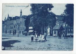 Den Haag - Stationsplein - Cafe Mar Om Enhd - 1902 - Den Haag ('s-Gravenhage)