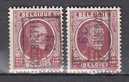 4842 Voorafstempeling Op Nr 246 - SOMBREFFE 29 - Positie A & B - Roller Precancels 1920-29