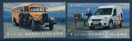 2013 Finland, Europa Cept, Postal Vehicles Complete Set Used. - Gebruikt