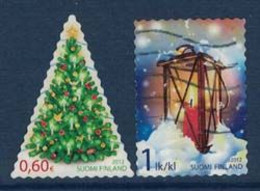 2012 Finland, Christmas Complete Set Used. - Gebruikt