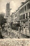 Utrecht - Oude Gracht Nabij T Wed - Tram - 1903 - Utrecht