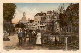 Leiden - Visch Markt Frontein - 1925 - Leiden