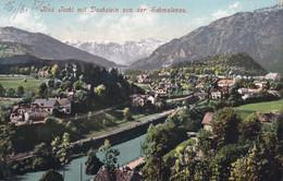 3244 - Österreich - Oberösterreich , Bad Ischl Mit Dachstein Von Der Schmalenau - Gelaufen 1908 - Bad Ischl