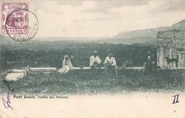 Ile Maurice Mauritius Cpa Port Louis Vallée Des Pretres + Timbre Cachet 1908 Carte Taxée Taxe - Mauritius