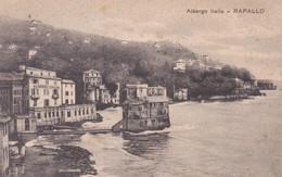 Cartolina - Rapallo, Genova, Albergo. - Genova (Genoa)