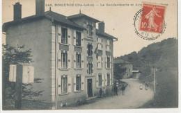 43 - Hte Loire - Rosieres  La Gendarmerie Et Avenue ? - Zonder Classificatie