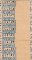 """9 Tickets De Métro Avec Pub. Au Verso """" LOTERIE NATIONALE """". (TTB) - Europa"""