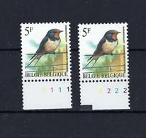 N°2475P8 Buzin Pltn°set MNH ** POSTFRIS ZONDER SCHARNIER SUPERBE - 1985-.. Pájaros (Buzin)