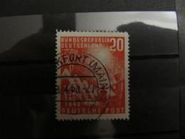 1949, Bund FRG Plattenfehler Error Mi. 112 VII Dorn Am Dachfirst, Value -,- - Used Stamps