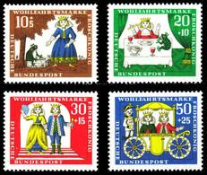 BRD 1966 Nr 523-526 Postfrisch S599252 - Nuovi