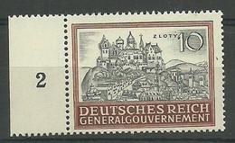 General Gouvernement/GG 1943 Mi 116 MNH ( LZE5 GGBmar116b ) - Castles