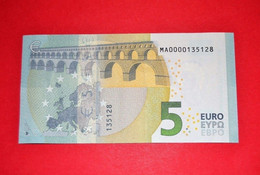 5 EURO - Low Serial Number - MA0000135128 - PORTUGAL M001A6 - UNC - NEUF - 5 Euro