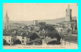 A881 / 431 83 - DRAGUIGNAN Vue D'ensemble De L'Eglise à La Tour De L'Horloge - Draguignan