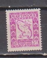 MARTINIQUE        N°  YVERT   TAXE 32  NEUF AVEC CHARNIERES   (Charn  2/38 ) - Segnatasse