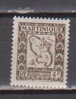 MARTINIQUE        N°  YVERT   TAXE 33  NEUF AVEC CHARNIERES   (Charn  2/38 ) - Segnatasse