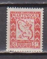 MARTINIQUE        N°  YVERT   TAXE 34  NEUF AVEC CHARNIERES   (Charn  2/38 ) - Segnatasse