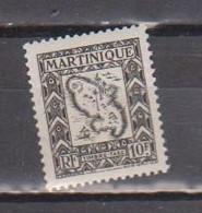 MARTINIQUE        N°  YVERT   TAXE 35  NEUF AVEC CHARNIERES   (Charn  2/38 ) - Segnatasse
