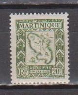 MARTINIQUE        N°  YVERT   TAXE 36  NEUF AVEC CHARNIERES   (Charn  2/38 ) - Segnatasse