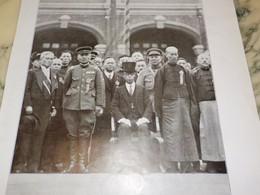 PHOTO LE ORINCE POU YI EX EMPEREUR DE CHINE 1932 - Historical Documents