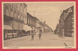 La Louvière - Rue Neuve ... Belle Animation ( Voir Verso ) - La Louvière