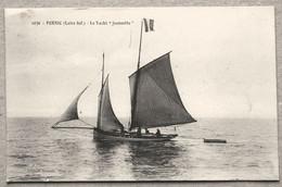 """CP PORNIC Le Yacht """" Jeannette """" - Pornic"""
