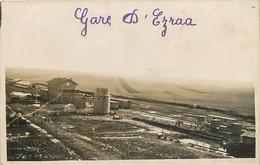 SYRIE , Camp D'EZRAA , Carte Photo , La Gare , * 436 90 - Syrië
