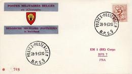 Enveloppe / Envelop / Briefumschlag / Envelope - FBA - BPS9 - Militares (Sellos M)