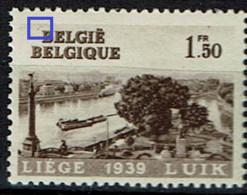 486  **  LV 3  Griffe Oblique Avant B - Abarten (Katalog Luppi)