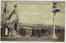 152 - GRANVILLE - Petite Jetée - Départ Des Bateaux Pour Les Bancs - Granville