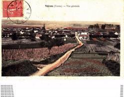 89 . Yonne : Véron : Vue Générale . - Veron