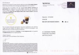 PAP Entier Postal DESTINEO M07 Timbre En Ligne NESPRESSO Café 3 - Privatganzsachen