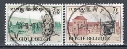 BELGIE: COB 1571/1572 Mooi Gestempeld. - Oblitérés