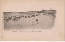 Vendée : LES  SABLES  D '  OLONNE :  Vue  Plage - Sables D'Olonne