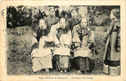 Chine - Types Chinois Du Quang-Si - Femmes Chinoises - Cina