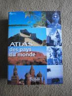 """Lot De 32 CD-ROM """"ATLAS DES PAYS DU MONDE"""" Avec Leur RELIURE - CD"""