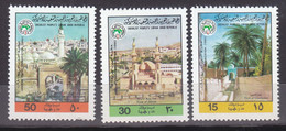 Stamps LIBYA 1980 SC 890 892 ARAB TOWNS ORGANIZATION MNH #124 - Libya