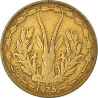 Monnaie, West African States, 25 Francs, 1975, TB+, Aluminum-Bronze, KM:5 - Ivory Coast