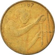 Monnaie, West African States, 25 Francs, 1987, TTB, Aluminum-Bronze, KM:9 - Ivory Coast