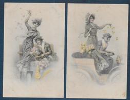 Illustrateur - M.M. VIENNE N°  240 - 2 Cartes - Vienne