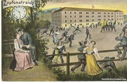 Zapfenstreich - Litho + 1905 - Sonstige