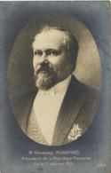 Mr Raymond POINCARE  President De La Republique Elu Le 17 Janvier 1913 Recto Verso - Politische Und Militärische Männer