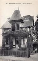 HOULGATE Chalet Des Lions, CPA N° 251 (calvados) J. Bréchet édit. Caen Déposé. Carte Postale Ancienne Villa à Colombages - Houlgate