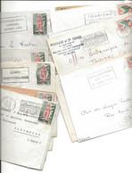 43 Lettres  Flammes Diverses - Algerien (1962-...)