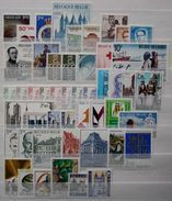 België - Belgique Jaar - Année 1971 ** MNH - Full Years