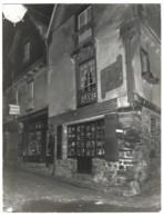 Grande Photo Ancienne 23 X 17,5 Cm - VITRÉ - Rue Beaudrairie Et St-Louis - Antiquités Et Curiosités - Studio Noël - Places
