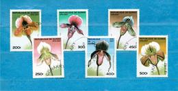 (21) GUINEE ° 1997 -  FLORE - ORCHIDEES - Orchidea .  Yvert. 1099 à 1104  Used. - Guinea (1958-...)