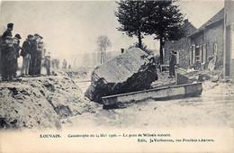 Louvain - Catastrophe Du 14 Mai 1906 - Le Pont De Wilsele écroulé - Leuven