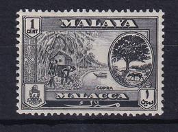 Malaya - Malacca: 1960/62   Pictorial   SG50    1c     MH - Malacca